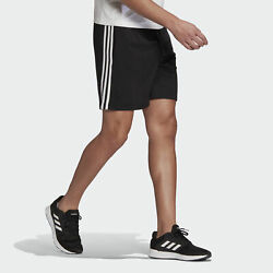 adidas Essentials French Terry 3 Stripes Shorts Men#x27;s $24.50