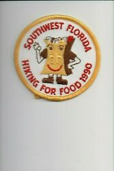 1990 Southwest Florida Hiking For Food patch $2.40