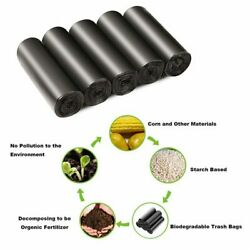 4 6 Gallon Small Garbage Bags Recycled Black Trash Bags Kitchen Biodegradable $20.95