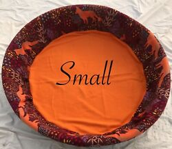 New Small Fleece Dog Whelping Pool Liner Round Dog Bed Cover Breeder Supplies $44.99