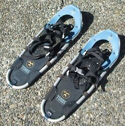 TUBBS SNOWSHOES Adventure 25 Inch Snow Shoes Made in USA Aluminum Pair $74.99