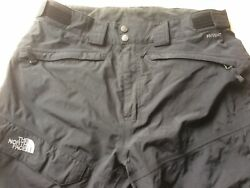 The North Face Hyvent Pants Insulated Cargo Ski Snow Men's Large Black $49.99