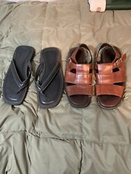 Cole Haan Kenneth Cole mens 13 sandals Pre Owned $29.99