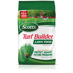 Lawn Fertilizer 12.6 lb. 5000 sq. ft. Turf Builder for Any Grass Type Green and $23.74