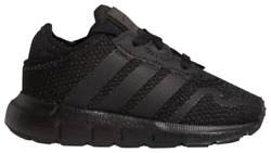 Adidas Boys 9 Toddler Swift Run I Sneakers Shoes Black New F34321 $39.99