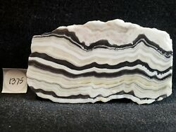 RARE Zebra Calcite W Incredible Lace for Cabbing Collecting from Mexico $27.99