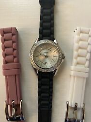 Womens Fossil Watch with Bands $37.00