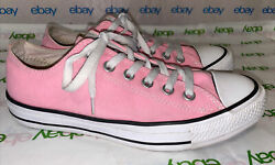 Converse All Star Womens Pink White Shoes Good Condition Size 8 $16.99