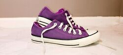 Preowned Converse All Star Womens Sneakers 540246F Womens Size 7 Purple $19.99