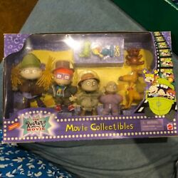 Nickelodeon The Rugrats Movie Collectibles Mattel 5 Figures 1998 Set New In Box $70.00