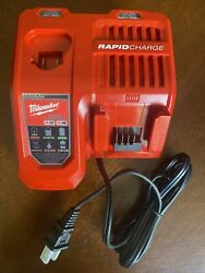 Milwaukee 48 59 1808 M12 M18 Rapid Charger Red Black $39.99