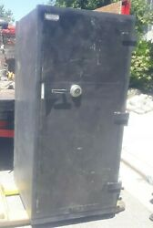 Large Commercial Steel fireproof Safe Vault Double Doors Pre Owned