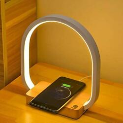 Bedside Lamp Wireless Charger LED Table Lamp with Touch Control Desk Lamps E... $79.08