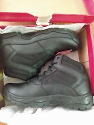 Dexter Tactical Hunting Hiking Black Leather Boots Men#x27;s Size 11 $27.99