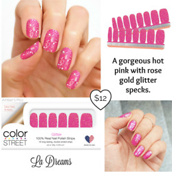 Color Street Nail Polish Strips CURRENT RETIRED RARE amp; HTF $20.00