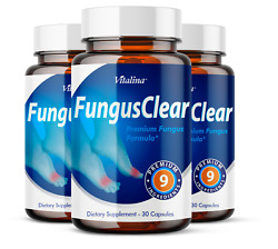 3 Pack Official Fungus Clear Probiotic for Men and Women 3 Month Supply $44.95