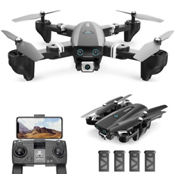DEERC S167 GPS RC Drone with Camera Foldable FPV GPS 1080P Quadcopter Follow Me $13.99