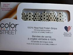 Color Street STAR FOR THE COURSE Retired 100% Nail Polish Strips $18.50