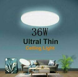 36W LED Ceiling Down Light Ultra Thin Flush Mount Kitchen Lamp Home Fixture
