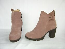 Bear Paw Eden Shearling Lined Ankle Boots Booties Women#x27;s 7 M $29.99