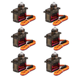 6PCS MG90S Micro Servo Motor Metal Gear 9G For RC Helicopter Airplane Car Robot $11.95