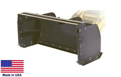 SNOW PUSH Commercial for Skid Steers Backhoes Wheel amp; Utility Loaders 72quot;