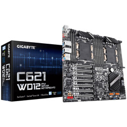 GIGABYTE Motherboard C621 WD12 IPMI BX30401 $675.00