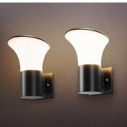 LMP 2 Pack LED Square Lights Outdoor Wall Contemporary Lamp Light Water proof $59.99
