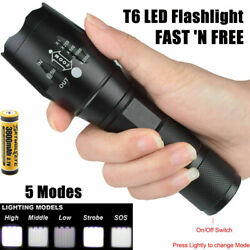 990000Lumens Strap Included Flashlight LED Diving torch Camping Lighting MINI PT $18.73