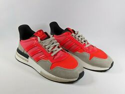 Mens LIKE NEW Adidas Originals ZX 500 RM Boost Red Casual Shoes US 10 UK 9.5 AU $79.99