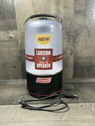 Coleman Camping Lantern LED Light And Sound Built in Bluetooth Speaker Str Music $45.95