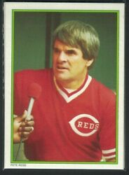 1986 Topps All Star Set Pete Rose #51 Reds $1.00