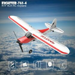 761 4 RC Plane 4CH Airplane Aircraft Built In Gyro System Easy To Fly RTF Sport $45.99