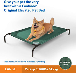 Extra Large amp; Small Dog Bed Elevated Outdoor Pet Indoor Durable COVER ONLY $14.29