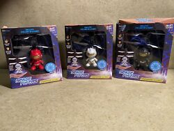 Skyline Blue Sky Drone Technology Space Flyers Hovering Drone Lot of 3 $35.00