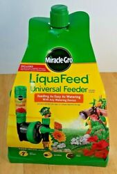 NEW Miracle Grow LiquaFeed Universal Feeder Easy Watering with Any Device $24.99