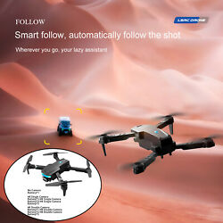Foldable Drone 4 Axis Gimbal 1.2km Obstacle Avoidance RC Quadcopter $36.92