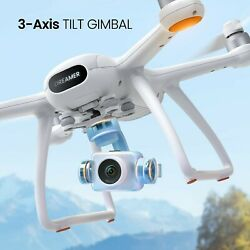 Potensic Dreamer Pro Drones with Camera for Adults 3 Axis Gimbal GPS Quadcopter $276.00