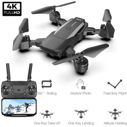 F84 Foldable RC Drone with 4K HD Camera Wifi FPV Selfie RC QuadcopterBag $48.99