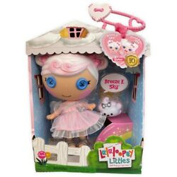 Lalaloopsy Littles 10th Anniversary Breeze E. Sky Doll Little Sister 2021 New $39.95