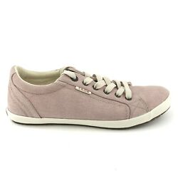 Taos Star Womens Size 10 Pink Canvas Casual Sneakers Shoes $39.95