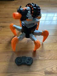 Nerf Combat Creature Terradrone with Remote RC Battle Drone Excellent Working $174.98