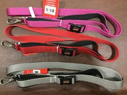 Dog leashes Kong comfort padded handle handsfree 6#x27; leash choose color New $21.99