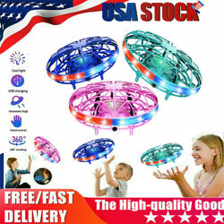 UFO Flying Ball Mini Drone Rc Toys Hand Controlled Helicopter Kids Xmas Gifts $13.19
