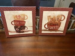 kitchen Coffee decorative wall signs $11.00