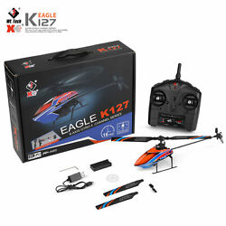 WLtoys XKS K127 RC Helicopter Remote Control RC Plane Fixed Height 4CH RTF R6J6 $64.28