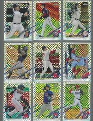 2021 Topps Chrome Inserts Refractors Sepia Variations $25.00