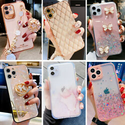 For iPhone 13 Pro Max 12 11 XR 8Plus Cute Shockproof Girl Women Phone Case Cover $9.98