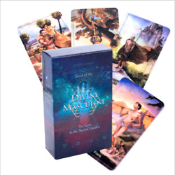 Universal Tarot of the Divine Masculine Party Game 78 Cards Divination Prophet $10.99