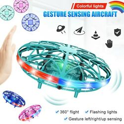 LED Hand Operated Drones Kids Mini Drone Toys UFO Flying Ball Drone Toy Boy Gift $17.99